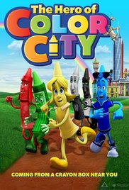 Watch Free The Hero of Color City (2014)