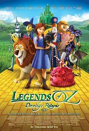 Watch Free Legends of Oz: Dorothy Return (2014)